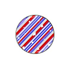 American Motif Golf Ball Marker 10 Pack (for Hat Clip)