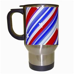 American Motif Travel Mug (White)