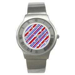 American Motif Stainless Steel Watch (slim)
