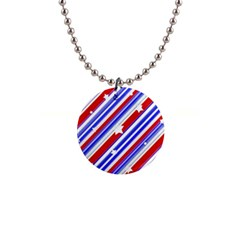American Motif Button Necklace