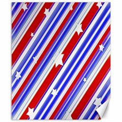 American Motif Canvas 8  X 10  (unframed)