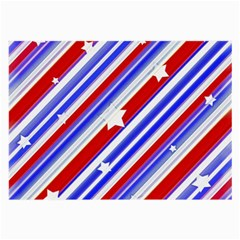 American Motif Glasses Cloth (large, Two Sided)