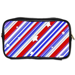 American Motif Travel Toiletry Bag (two Sides)