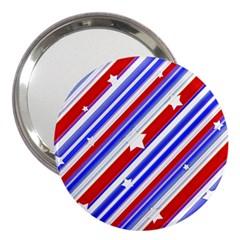 American Motif 3  Handbag Mirror