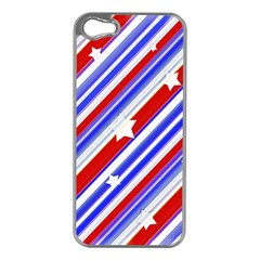 American Motif Apple iPhone 5 Case (Silver)