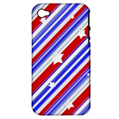 American Motif Apple Iphone 4/4s Hardshell Case (pc+silicone)