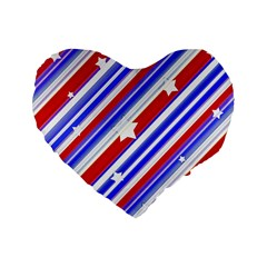 American Motif 16  Premium Heart Shape Cushion