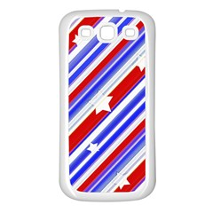American Motif Samsung Galaxy S3 Back Case (White)