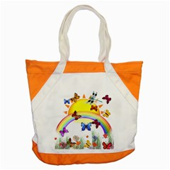 Butterfly Rainbow Days Accent Tote Bag