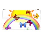 Butterfly Rainbow Days Pencil Case Back