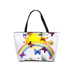 Butterfly Rainbow Days Large Shoulder Bag