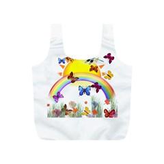 Butterfly Rainbow Days Reusable Bag (S)