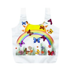 Butterfly Rainbow Days Reusable Bag (M)