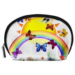 Butterfly Rainbow Days Accessory Pouch (large)
