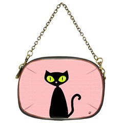 One Cool Cat Chain Purse (one Side)
