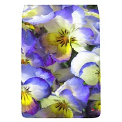 Painted Pansies Removable Flap Cover (Small)
