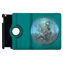 Led Zeppelin III Digital Art Apple iPad 2 Flip 360 Case