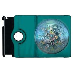 Led Zeppelin III Digital Art Apple iPad 3/4 Flip 360 Case