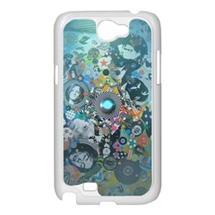 Led Zeppelin III Digital Art Samsung Galaxy Note 2 Case (White)