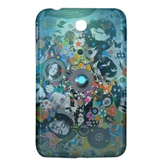 Led Zeppelin III Digital Art Samsung Galaxy Tab 3 (7 ) P3200 Hardshell Case