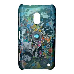 Led Zeppelin Iii Digital Art Nokia Lumia 620 Hardshell Case