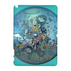 Led Zeppelin III Digital Art Samsung Galaxy Note 10.1 (P600) Hardshell Case