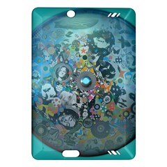 Led Zeppelin III Digital Art Kindle Fire HD 7  (2nd Gen) Hardshell Case