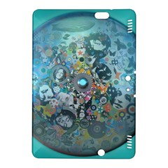 Led Zeppelin III Digital Art Kindle Fire HDX 8.9  Hardshell Case
