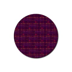 Funky Retro Pattern Drink Coasters 4 Pack (round)