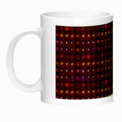 Funky Retro Pattern Glow In The Dark Mug