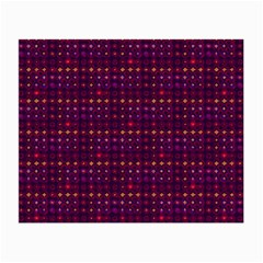 Funky Retro Pattern Glasses Cloth (small, Two Sided)
