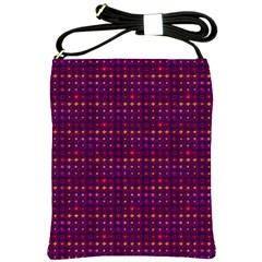 Funky Retro Pattern Shoulder Sling Bag
