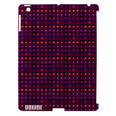 Funky Retro Pattern Apple Ipad 3/4 Hardshell Case (compatible With Smart Cover)