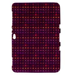 Funky Retro Pattern Samsung Galaxy Tab 8.9  P7300 Hardshell Case