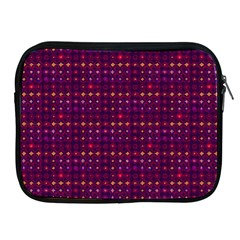 Funky Retro Pattern Apple Ipad Zippered Sleeve