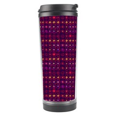 Funky Retro Pattern Travel Tumbler