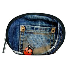 Blue Jean Butterfly Accessory Pouch (medium)