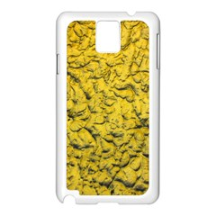 The Look Of Gold Samsung Galaxy Note 3 N9005 Case (White)