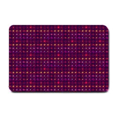 Funky Retro Pattern Small Door Mat