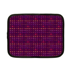 Funky Retro Pattern Netbook Sleeve (small)