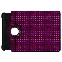 Funky Retro Pattern Kindle Fire HD 7  (1st Gen) Flip 360 Case