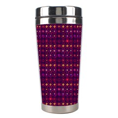 Funky Retro Pattern Stainless Steel Travel Tumbler