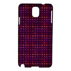 Funky Retro Pattern Samsung Galaxy Note 3 N9005 Hardshell Case
