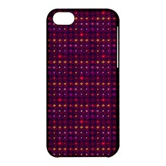 Funky Retro Pattern Apple iPhone 5C Hardshell Case