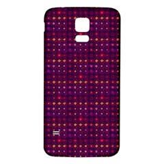 Funky Retro Pattern Samsung Galaxy S5 Back Case (White)
