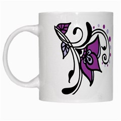 Awareness Flower White Coffee Mug