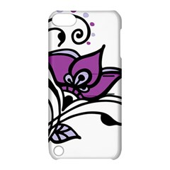 Awareness Flower Apple Ipod Touch 5 Hardshell Case With Stand