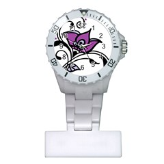 Awareness Flower Nurses Watch