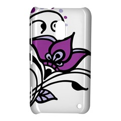 Awareness Flower Nokia Lumia 620 Hardshell Case