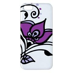 Awareness Flower iPhone 5S Premium Hardshell Case
